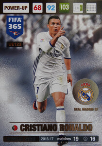 UPDATE 2017 FIFA 365 WINTER STAR CRISTIANO RONALDO #123