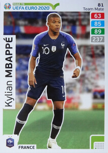 ROAD TO EURO 2020 TEAM MATE Kylian Mbappé 81