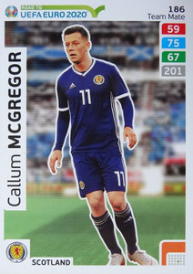 ROAD TO EURO 2020 TEAM MATE Callum McGregor 186