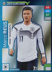 ROAD TO EURO 2020 FANS FAVOURITE Marco Reus #251