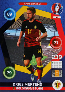 EURO 2016 GAME CHANGER  Dries Mertens #43