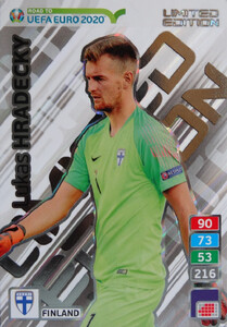 ROAD TO EURO 2020 LIMITED Lukas Hradecky