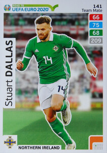 ROAD TO EURO 2020 TEAM MATE Stuart Dallas 141
