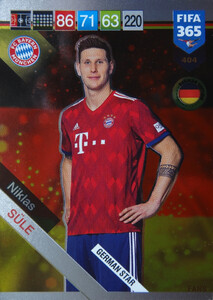 2019 FIFA 365 GERMAN STAR Niklas Sule #404
