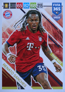 UPDATE 2019 FIFA 365 TEAM MATE Renato Sanches #UE23