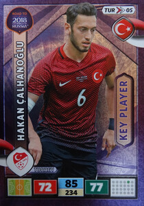 ROAD TO RUSSIA 2018 KEY PLEYER TURCJA CALHANOGLU 5
