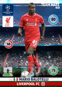 2014/15 CHAMPIONS LEAGUE® TEAM MATE Mario Balotelli #158