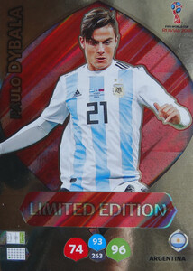 WORLD CUP RUSSIA 2018 LIMITED ARGENTYNA 	Paulo Dybala