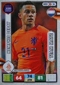 ROAD TO RUSSIA 2018 TEAM MATE HOLANDIA DEPAY 16