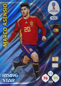 WORLD CUP RUSSIA 2018 RISING STAR ASENSIO 422