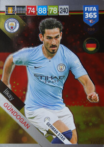 2019 FIFA 365 GERMAN STAR Ilkay Gundogan #398