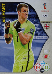 WORLD CUP RUSSIA 2018 ANGLIA TEAM MATE  HART 100