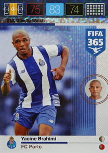2016 FIFA 365 ONE TO WATCH Yacine Brahimi #213