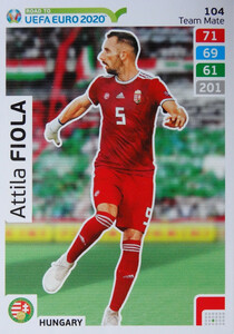 ROAD TO EURO 2020 TEAM MATE Attila Fiola 104