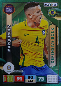 ROAD TO RUSSIA 2018 DEFENSIVE ROCK BRAZYLIA MARQUINHOS 05