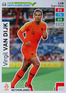 ROAD TO EURO 2020 TEAM MATE  Virgil van Dijk 128