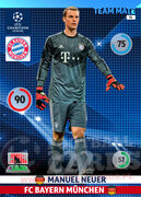 2014/15 CHAMPIONS LEAGUE® TEAM MATE Manuel Neuer #91