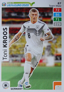 ROAD TO EURO 2020 TEAM MATE Toni Kroos 87