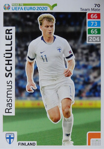 ROAD TO EURO 2020 TEAM MATE Rasmus Schüller 70