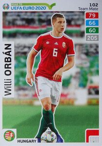 ROAD TO EURO 2020 TEAM MATE Willi Orbán 102