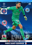 2014/15 CHAMPIONS LEAGUE® TEAM MATE Salvatore Sirigu #199