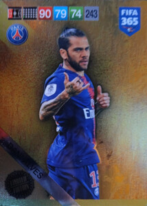 2019 FIFA 365 UPDATE  LIMITED EDITION DANI ALVES