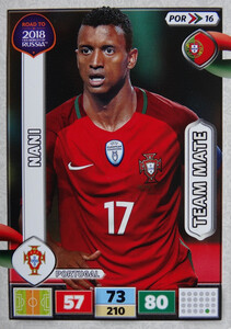 ROAD TO RUSSIA 2018 TEAM MATE PORTUGALIA NANI 16