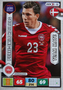 ROAD TO RUSSIA 2018 TEAM MATE DANIA HOJBJERG 12