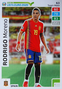 ROAD TO EURO 2020 TEAM MATE  Rodrigo Moreno 63