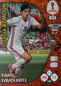 WORLD CUP RUSSIA 2018 FANS FAVOURITE AZMOUN 377