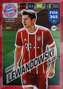 2018 FIFA 365 TEAM MATE Robert Lewandowski #169
