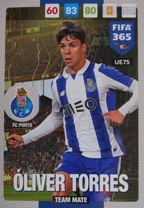 UPDATE 2017 FIFA 365 TEAM MATE OLIVER TORRES #75