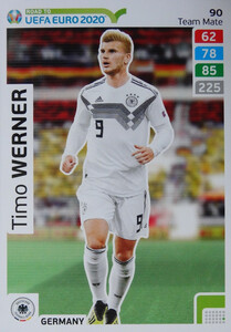 ROAD TO EURO 2020 TEAM MATE Timo Werner 90