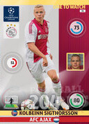 2014/15 CHAMPIONS LEAGUE® ONE TO WATCH Kolbeinn Sigthórsson #34