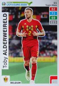 ROAD TO EURO 2020 TEAM MATE Toby Alderweireld 11