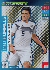 ROAD TO EURO 2020 FANS FAVOURITE Mats Hummels #250