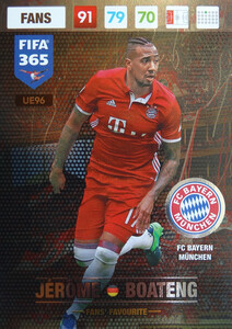 UPDATE 2017 FIFA 365 FANS' FAVOURITE JEROME BOATENG #96