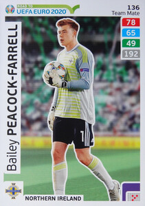 ROAD TO EURO 2020 TEAM MATE Bailey Peacock 136