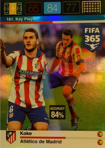 2016 FIFA 365 KEY PLAYER Koke #161