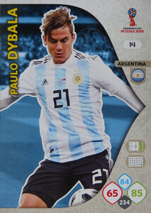 WORLD CUP RUSSIA 2018 ARGENTYNA TEAM DYBALA 14