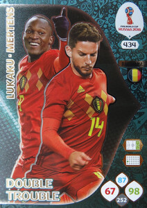 WORLD CUP RUSSIA 2018 DOUBLE TROUBLE BELGIA 434