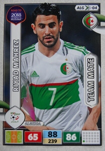ROAD TO RUSSIA 2018 TEAM MATE ALGERIA  MAHREZ 04