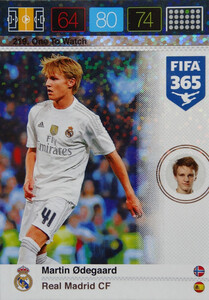 2016 FIFA 365 ONE TO WATCH Martin Ødegaard #219