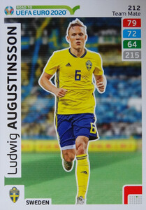 ROAD TO EURO 2020 TEAM MATE Ludwig Augustinsson 212