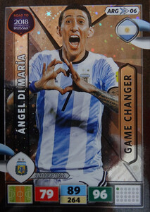 ROAD TO RUSSIA 2018 GAME CHANGER ARGENTYNA  DI MARIA 06