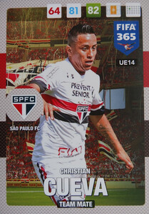 UPDATE 2017 FIFA 365 TEAM MATE Christian Cueva #14