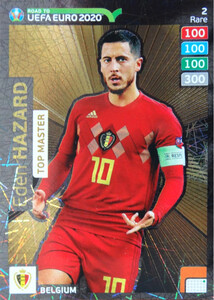 ROAD TO EURO 2020 RARE TOP MASTER HAZARD 2