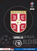 ROAD TO EURO 2016 LOGO Serbia  #23