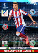 2014/15 CHAMPIONS LEAGUE® TEAM MATE Guilherme Siqueira #58