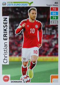 ROAD TO EURO 2020 TEAM MATE Christian Eriksen 40